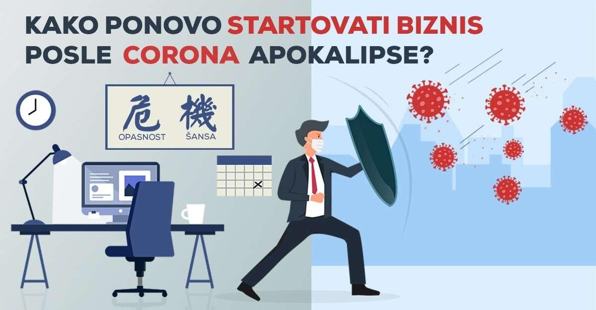 Kako ponovo startovati biznis posle Corona apokalipse, kao da se ništa nije desilo?